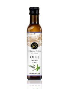Olej z nasion chia tłoczony na zimno