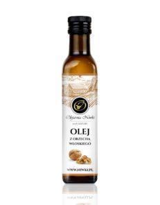 Olej z orzecha włoskiego tłoczony na zimno