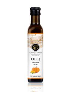 Olej z pestek dyni tłoczony na zimno