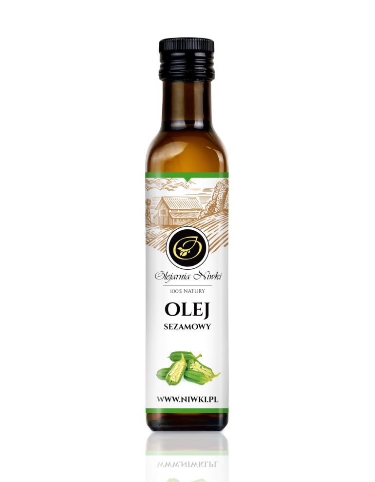 Olej sezamowy tłoczony na zimno
